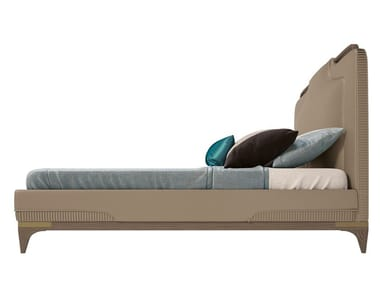 Double bed with upholstered headboard ALEXANDER | Bed
