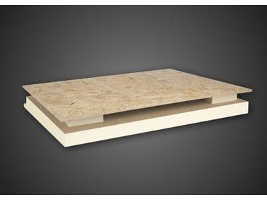 Sistema per tetto ventilato in schiuma polyiso ALGOPAN PLUS