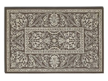 Rectangular wool rug ALHAMBRA