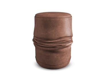Leather stool ALI
