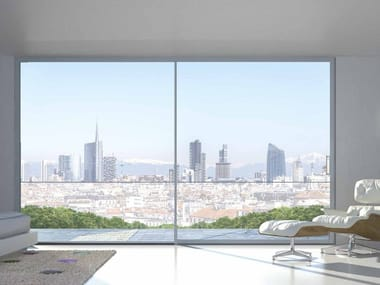 Aluminium sliding window DOMAL SCORREVOLE MINIMALE