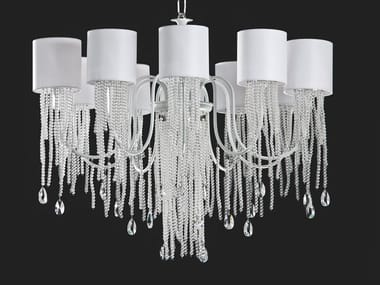LED chandelier with crystals ALICE | Chandelier