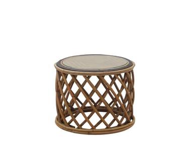 round rattan coffee table. Round Rattan Coffee Table ALICE   Garden Side