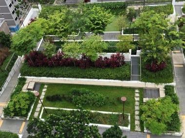 Roof garden system ALKORGREEN