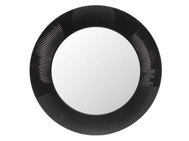 Round wall-mounted framed mirror ALL SAINTS
