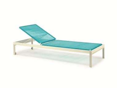 Recliner PVC garden daybed ALLAPERTO CAMPING CHIC | Garden daybed