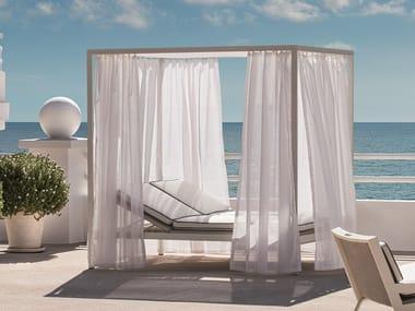 Double canopy garden bed ALLAPERTO GRAND HOTEL ETWICK | Garden bed