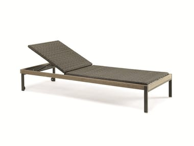 Recliner Ethimo EtWick® garden daybed ALLAPERTO MOUNTAIN ETWICK | Garden daybed