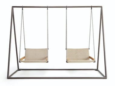2 Seater polypropylene garden swing seat ALLAPERTO NAUTIC   Garden swing seat