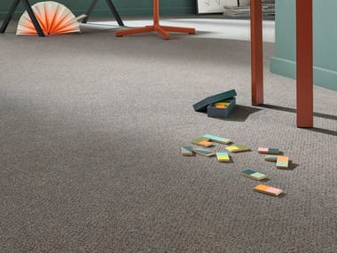 Carpeting and vinyl flooring