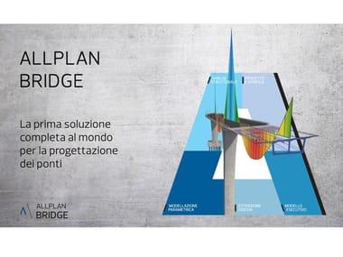 Soluzione BIM professionale per la progettazione dei ponti ALLPLAN BRIDGE 2021