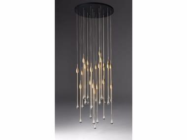 Murano glass pendant lamp ALLURE