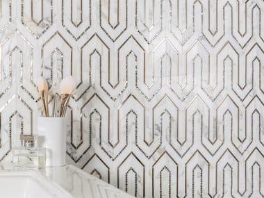 Marble mosaic ALLURE RUG