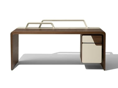 Rectangular writing desk with drawers ALMA