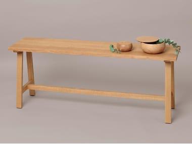 Panca in legno massello ALMA