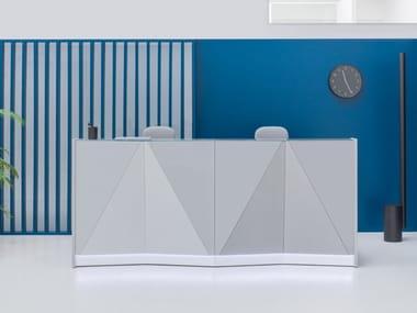 Office reception desks