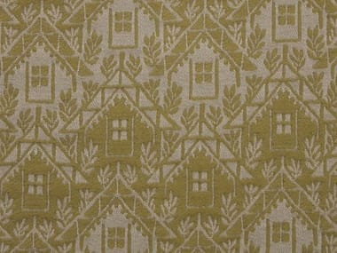 Jacquard fabric with graphic pattern ALPAGE CHALET
