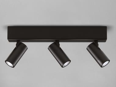 LED multiple adjustable aluminium spotlight ALPHA 3