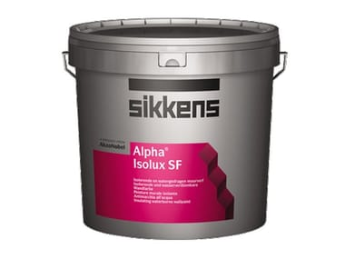 Pittura murale all'acqua ALPHA ISOLUX SF