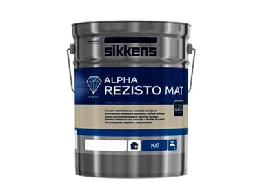 Washable water-based paint ALPHA REZISTO MAT