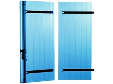 PMMA panel shutter ALPHALUX