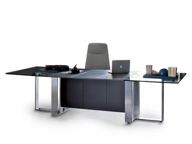 Ufficio Legno E Vetro : Scrivanie per ufficio in legno e vetro archiproducts