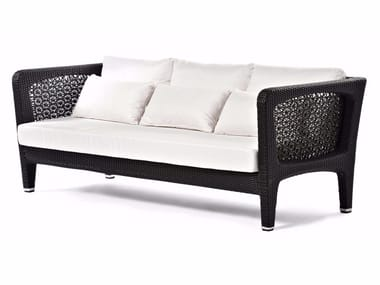 Synthetic fibre garden sofa ALTEA | Sofa