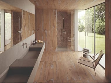 Porcelain stoneware wall/floor tiles with wood effect ALTER NOCE