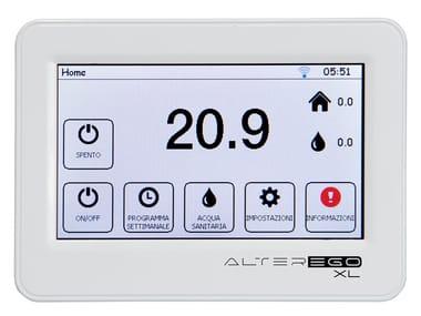 Heat regulation and hygrometric control ALTEREGO