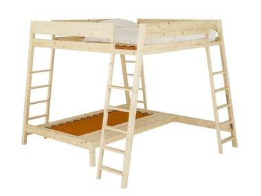 Pine Kids bunk bed ALTEZZA