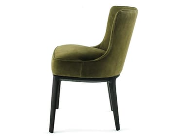 Upholstered fabric chair ALTHEA