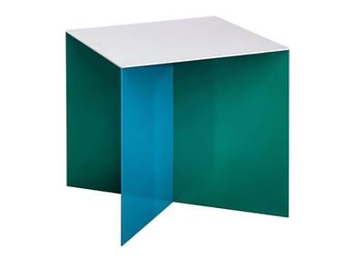Square aluminium coffee table ALU SQUARE
