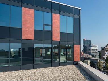 Panneau de façade en matériau composite ALUCOBOND® vintage