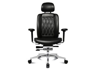 Swivel executive chair with 5-spoke base ALUMEDIC LIMITED S COMFORT