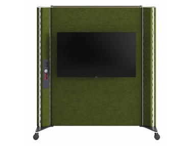 Floor mounted fabric stand ALVEARE | Stand