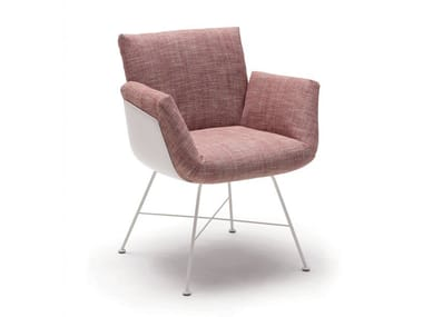 Chair with armrests ALVO | Chair