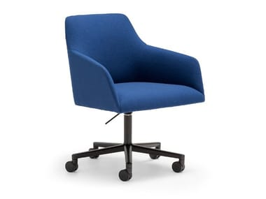 Swivel height-adjustable chair with castors ALYA SO1537