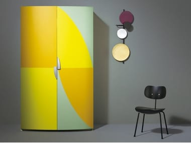 Hideaway lacquered Mini kitchen AM 01
