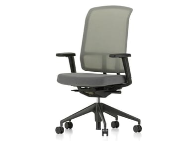 Swivel mesh office chair with armrests AM CHAIR