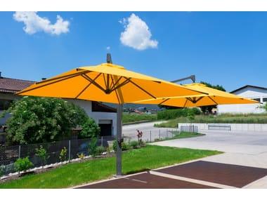 h_AMALFI DUO Double Garden umbrella Michael Caravita 205528 rel6ca06e10 belvedere round garden umbrella by caravita  at gsmx.co