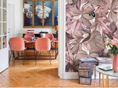 Digital printing wallpaper with floral pattern AMALFI