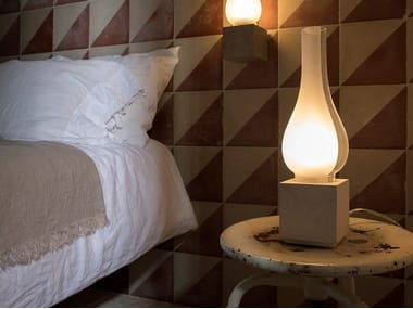 Cement table lamp / floor lamp AMARCORD | Table lamp