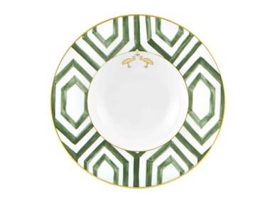 Porcelain deep plate AMAZÓNIA | Deep plate