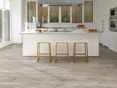 Pavimento in gres porcellanato effetto legno AMAZON MATIS