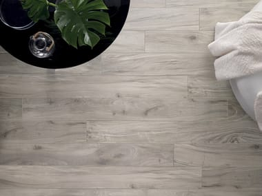 Pavimento in gres porcellanato effetto legno AMAZON NAWA