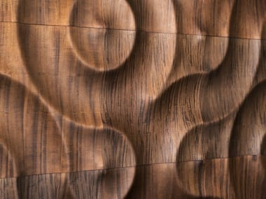 Modular wooden 3D Wall Panel AMAZONAS