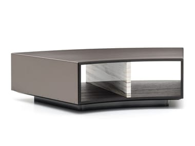 Low coffee table with storage space AMBER