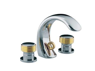 3 hole countertop washbasin mixer AMBOISE | 3 hole washbasin mixer