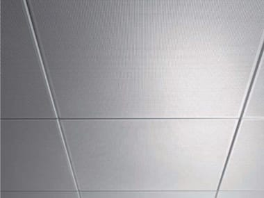Acoustic metal ceiling panels AMF MONDENA® - System A