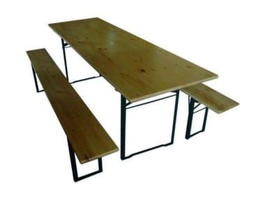 Tavolo con panca AMICI